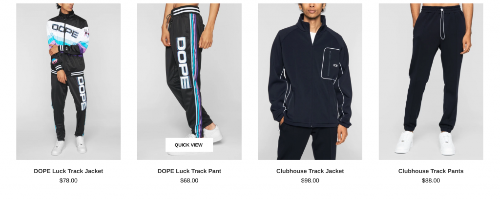 Dope Clothing Line 2020