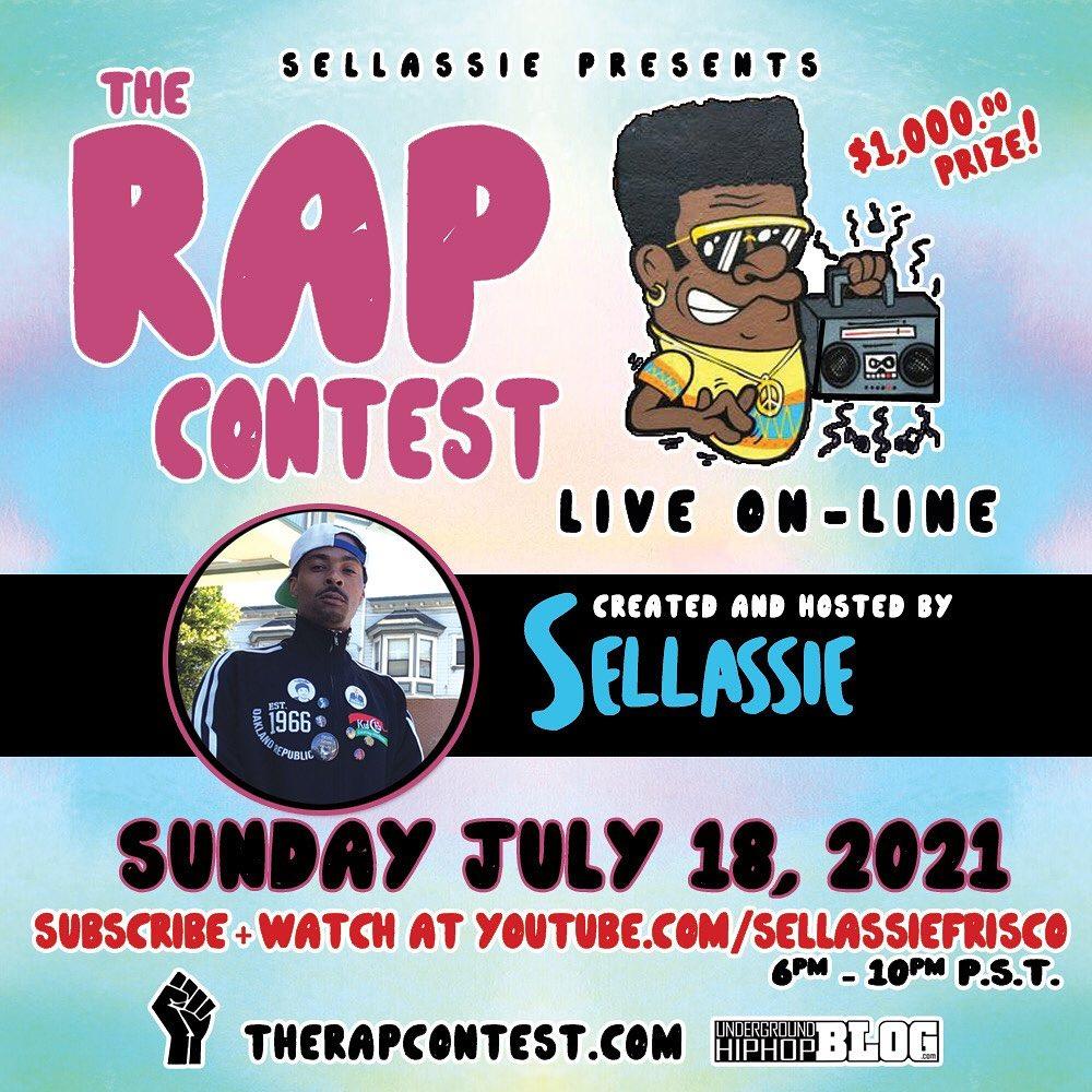 The Rap Contest - Live On-Line